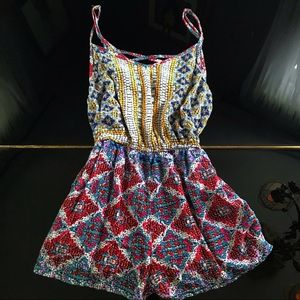 Light Colorful romper